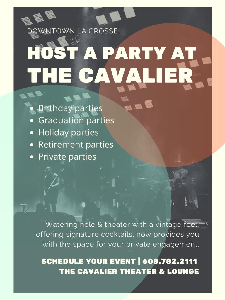 Event Flyer - Cavalier